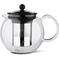 When Bodum® was asked by The British Tea Council to develop a new way of brewing tea, it created the innovative tea press brewing system. Aveda Tea, Glass Teapot, Home Tech, Brewing Tea, Kettle, Tea Pots, Coffee Maker, Modern, Teas