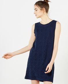 Vestido de mujer Sfera azul marino de encaje