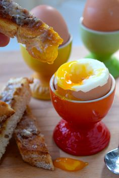 Brunch Suggestions - 4 Ways with Eggs: Dippy Eggs & Anchovy Soldiers