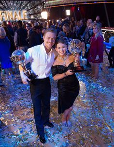 Bindi and Derek - DWTS 21 Champions