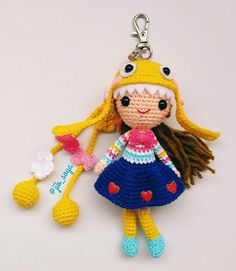 CROCHET - DOLL - lovely doll