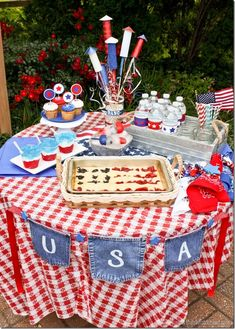 4th of July Tablesca