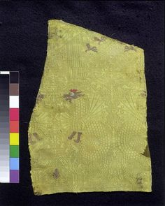 Woven silk  Place of origin:Italy (possibly, made)  Spain (possibly, made)  Date:    ca. 1270-1330 (made)