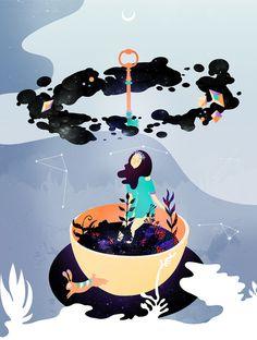 Vero Escalante | Kid's Room Art | Little Gatherer