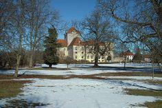 Gjorslev Slot og Gods på Stevns 17 km SØ for Køge.