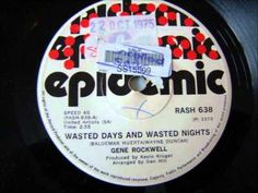 Gene Rockwell - Wasted days and wasted nights Nostalgic Music, In His Time, South African Artists, Afrikaans, Music Videos, Memories, Dance, Songs, Night