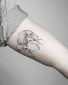 22 Black Fine Line Tattoos by Rising Star Phoebe Hunter Pop Art Tattoos, Fine Line Tattoos, Head Tattoos, Mini Tattoos, Rose Tattoos, Flower Tattoos, Tattoo Art, Hunter Tattoo, Black Line Tattoo