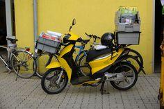 KSR MOTO ONYX 50 Pick-Up  #ksrmoto #ksrmotoonyx #motorroller #scooter #lastenroller #postmoped #post #mail