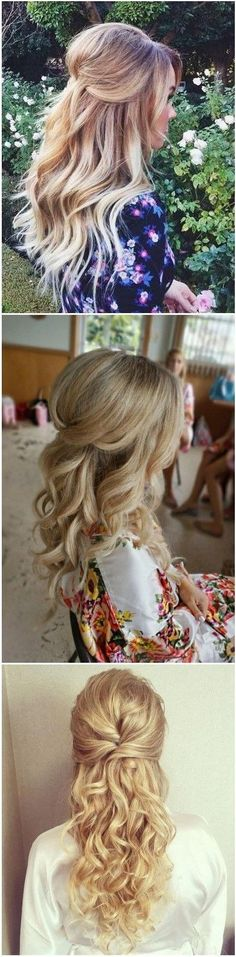 #FineHair #HAIRSTYLES Wedding Hairstyles � 22 Half Up and Half Down Wedding Hairstyles to Get You Inspired � ?? See more: Click to See More...