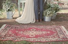 """I think I want a rug for the ceremony <3 Plus, I loved this from their wedding: """"For our wedding film, we passed around a super 8mm camera and had our guests film the day. I then developed and edited it…"""""""