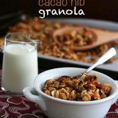 Paleo Coconut Cacao Nib Granola – Low Carb and Gluten-Free