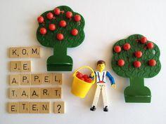 Kom je appeltaart eten? www.juffrouwgans.nl