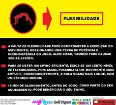 GOLFE & FLEXIBILIDADE.