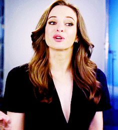 Danielle Panabaker gif - The Flash