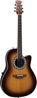 Ovation Standard Balladeer #Vintage Lyrachord Electric Acoustic Guitar Sunburst (555-0131-098) [Aug 2013] - £582.00 :: 100sof