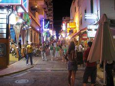 West End, San Antonio, Ibiza - July 1999 Menorca, San Antonio Ibiza, Learn Languages Online, Ibiza Holidays, Ibiza Party, Bars And Clubs, Holiday Apartments, Holiday Accommodation, Balearic Islands