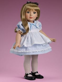 """http://www.tonnerdoll.com/my-imagination/18-alice   I really need another 18"""" doll but....I think this one is on my TO BUY list"""