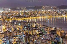 Boa noite amigos, Simplesmente Santa Catarina! Cidade: Florianópolis Imagem: Andre Philipe