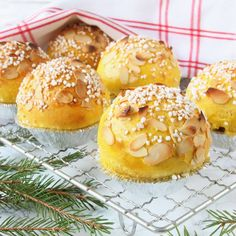 Biscuits, Baked Doughnuts, Pan Dulce, Sweet Pastries, Christmas Sweets, Foods To Eat, I Love Food, Just Desserts, Baking Recipes