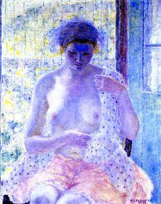 Nude in Window, Frederick C. Frieseke
