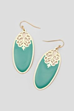 Laser Cut Etta Earrings in Paris