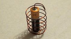 DIY: How To Make a Simple Homopolar Motor