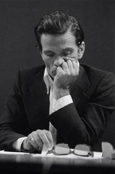 Pier Paolo Pasolini (1922-1975) - Italian film director, poet, writer and intellectual. Photo by Letizia Battaglia
