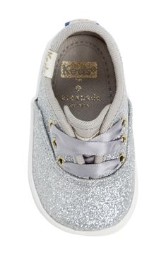 Keds x kate spade new york Champion Glitter Crib Shoe