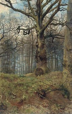 "John Collier ""The Spring Wood"""
