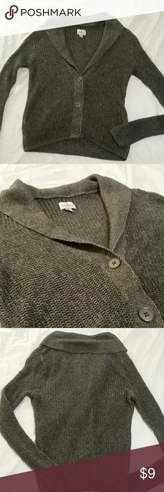 Cozy American Eagle a sweater Cozy and stretchy.  Perfect condition. American Eagle Outfitters Sweaters Cardigans