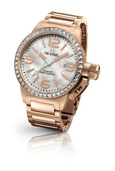 Canteen Style ROSE GOLD PLATED MOTHER OF PEARL from TW Steel in Akron, OH from Shulan's