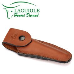 Laguiole Honor_? Durand brown leather belt pocket for 11/12 cm knives - knife case - quality sheath *** See this great product.
