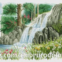 Gallery.ru / Все альбомы пользователя denise10 Cross Stitch Flowers, Cross Stitch Patterns, Xmas, Scenery, Embroidery, Projects, Cross Stitch Designs, Counted Cross Stitch Patterns, Cross Stitch Charts