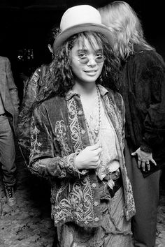 One of my favorite style icons from the 80's and 90's was Lisa Bonet who played Denise Huxtable on The Cosby Show. A true free spirit, she seemed to wear whatever she felt like & to do whatever...