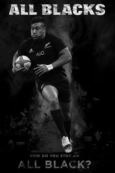 All Blacks rugby - Photo created by Gordon Tunstall using Adobe Photoshop Rugby 7's, All Blacks Rugby Team, Nz All Blacks, Rugby Sport, Rugby League, Rugby Players, 2015 Rugby World Cup, World Cup Winners, The Great White