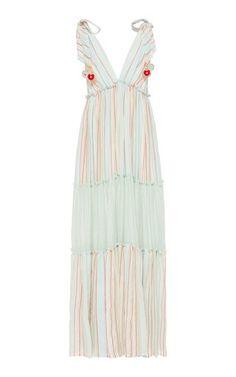 Herrera Maxi Dress by Andres Otalora | Moda Operandi Marchesa Fashion, Ladies Dress Design, Ladies Day, Chiffon Dress, Designing Women, Designer Dresses, Dress Outfits, Luxury Fashion, Summer Dresses