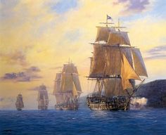 PAINTINGS BRITISH NAVY SAILING SHIPS OF THE LINE - WIKIDISCOVERYPEDIA