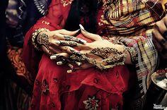 Sudanese Jirtig Bridal Henna
