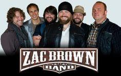 Zac Brown Band Tickets : Bi-lo Center : Greenville, SC May 10 ...