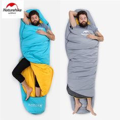 NatureHike Outdoor <font><b>Sleeping</b></font> Compression Bag Mummy Thermal Warm Adult Single Winter Camping Waterproof Solid Carry Bag