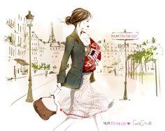 Og om morgenen i Paris .