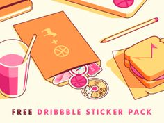 Sticker Mule + Dribbble = Limited Edition Dribbble Stickers