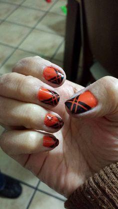 Naranja y negro!