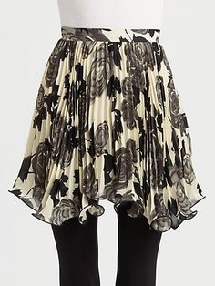 #Saks Fifth Avenue        #Skirt                    #Milly #Rosie #Flared #Skirt                        Milly - Rosie Flared Skirt                                                    http://www.seapai.com/product.aspx?PID=475392