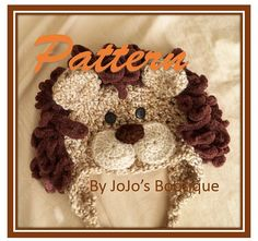 Baby Hats - Lion Hat - Baby Lion Hat - Boy Lion Costume Hat - Halloween Costume Hat - Lion Costume Hat - by JoJosBootique Crochet Lion, Crochet Baby Hats, Crochet Beanie, Knit Or Crochet, Cute Crochet, Crochet For Kids, Crochet Crafts, Yarn Crafts, Hand Crochet