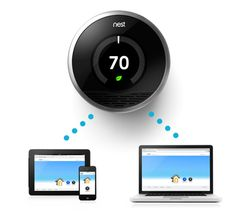 Very cool thermostat system to save energy #nest #green #geek
