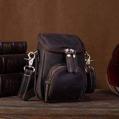 Vintage Leather Belt Pouch for Men Waist Bags BELT BAGs Shoulder Bags – imessengerbags Leather Belt Pouch, Leather Belts, Leather Men, Leather Purses, Tote Bags For College, Mini Messenger Bag, Brown Backpacks, Belt Bags, Long Wallet