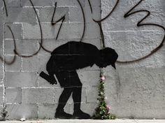 Лос-Анджелес, США. Banksy