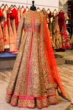 Dori/Sequins Lacha with Banarsi Lengha – Wellgroomed Designs
