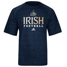 Notre Dame Fighting Irish Navy adidas 2012 Chicago Shamrock Series ClimaLITE Practice T-Shirt $28